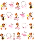 Stickers Minnie Mouse <br> <FONT COLOR=#ff0000 >SOLD OUT/STOCK ÉPUISÉ</FONT>