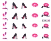 Stickers Style Louboutin <br> <FONT COLOR=#ff0000 >SOLD OUT/STOCK ÉPUISÉ</FONT>